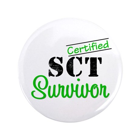 "SCT I Wear Green 3.5"" Button"