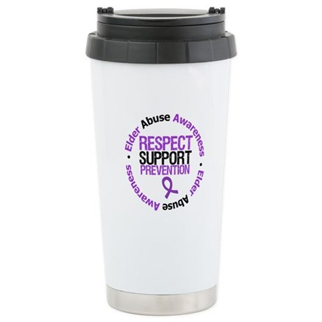 ElderAbuseRespect Ceramic Travel Mug