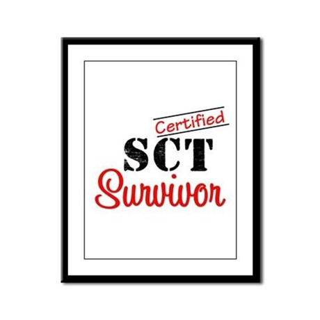 SCT I Wear Green Framed Panel Print