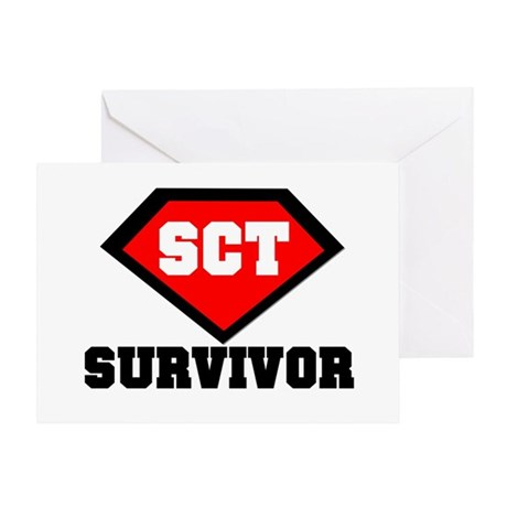 SCT Survivor Greeting Card