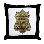 San Antonio Patrolman Throw Pillow