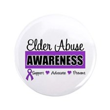 "ElderAbuse Awareness 3.5"" Button"