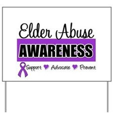 ElderAbuse Awareness Yard Sign
