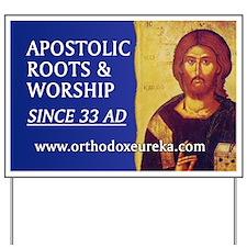 Apostolic Roots Yard Sign