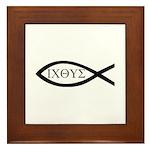 ICHTHYS [Fish] Framed Tile