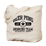 Beer Pong Drinking Team Tote Bag