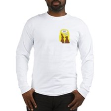 Cute Chocolate bunny Long Sleeve T-Shirt