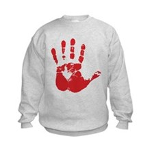 Red Handed Kids Sweatshirt