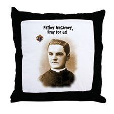 Knights of Columbus Throw Pillow