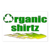 Organic Shirtz Postcards (Package of 8)