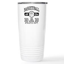 Basketball Dad Travel Coffee Mug