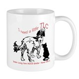 TLC dog and cat logo Mug