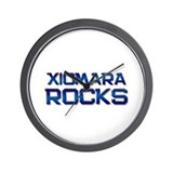 xiomara rocks Wall Clock