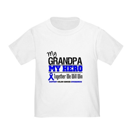 ColonCancerHero Grandpa Toddler T-Shirt