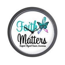 ThyroidCancerFaithMatters Wall Clock