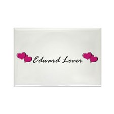 Edward lover Rectangle Magnet (10 pack)