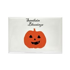 Samhain Blessings Rectangle Magnet (100 pack)