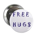"Free Hugs 2.25"" Button (10 pack)"
