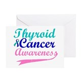 Thyroid Cancer Awareness Greeting Card