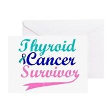 Thyroid Cancer Survivor Greeting Card