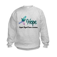 Thyroid Cancer Hope Sweatshirt