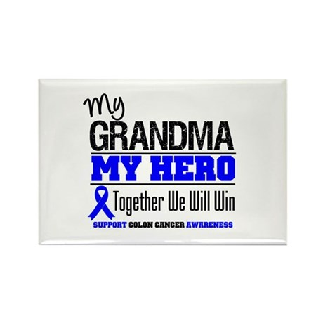 ColonCancerHero Grandma Rectangle Magnet