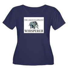 The Asian Elephant Whisperer Women's Plus Size Sco