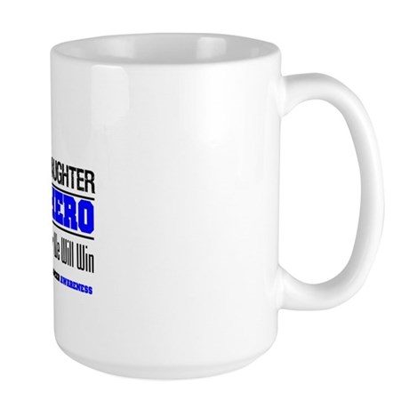 ColonCancer Granddaughter Large Mug
