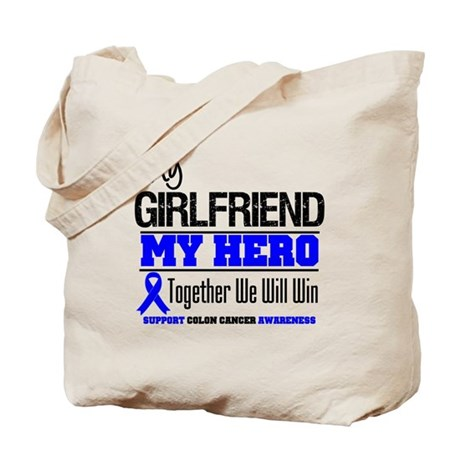 ColonCancer Girlfriend Tote Bag