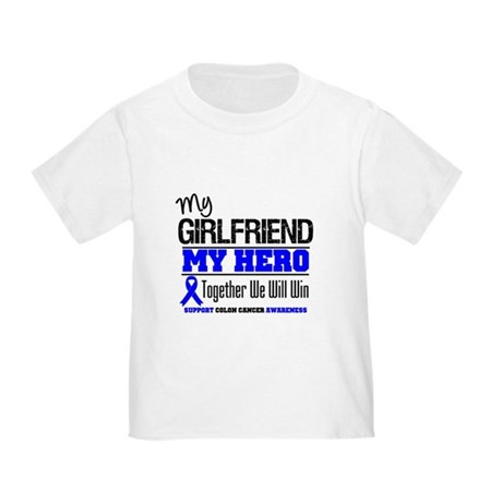 ColonCancer Girlfriend Toddler T-Shirt