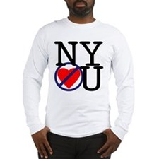 NY Don't Love You Long Sleeve T-Shirt