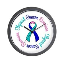 Thyroid Cancer Wall Clock