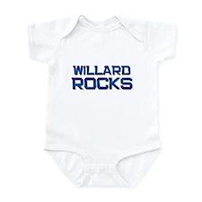willard rocks Infant Bodysuit