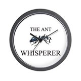 The Ant Whisperer Wall Clock