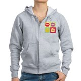 Pop Kiss Zip Hoody