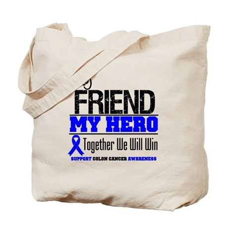 ColonCancerHero Friend Tote Bag