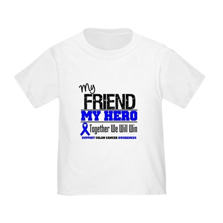 ColonCancerHero Friend Toddler T-Shirt