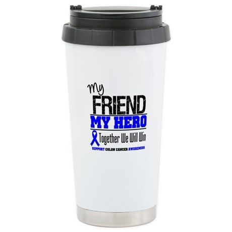 ColonCancerHero Friend Ceramic Travel Mug