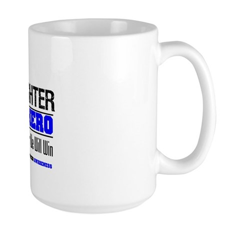 ColonCancerHero Daughter Large Mug
