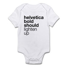 Lighten Up (Black) Infant Bodysuit