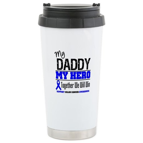 ColonCancerHero Daddy Ceramic Travel Mug