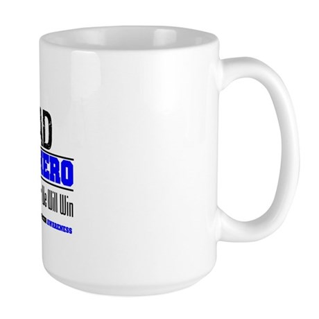 ColonCancerHero Dad Large Mug