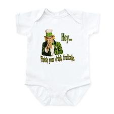 Finish your drink Infant Bodysuit
