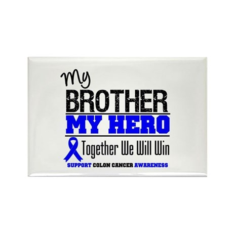 ColonCancerHero Brother Rectangle Magnet