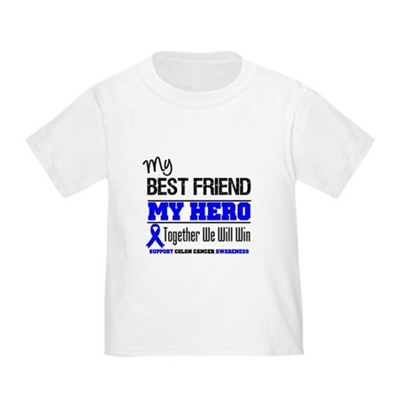 ColonCancerHero BestFriend Toddler T-Shirt