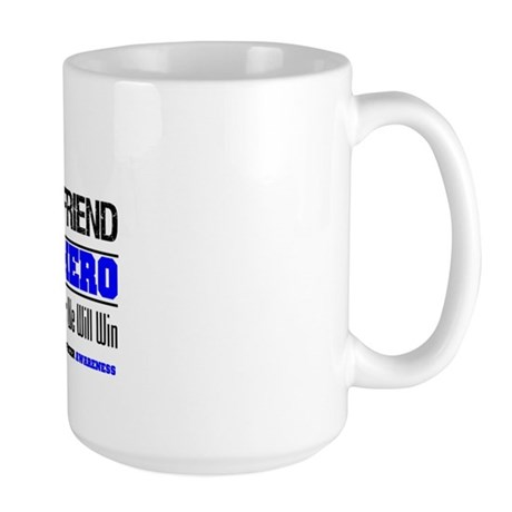 ColonCancerHero BestFriend Large Mug