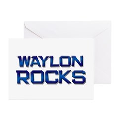 waylon rocks Greeting Cards (Pk of 20)