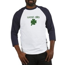 West Allis shamrock Baseball Jersey