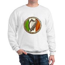 Irish Harp and Flag Sweatshirt