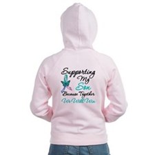 Thyroid Cancer Son Zip Hoodie
